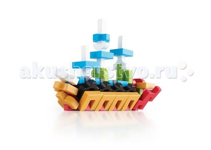 Конструктор Guidecraft IO Blocks 192 деталиIO Blocks 192 деталиGuidecraft Конструктор IO Blocks 192 детали - создавай безграничный мир из людей, животных, архитектуры, роботов, транспортных средств и многое другое с помощью конструктора IO Blocks! Каждый набор включает в себя уникальные пластиковые формы шести разных цветов. Детали конструктора крепятся между собой с помощью уникальных регулируемых соединений.   Детали выполнены из высоко-качественного пластика со специальным матовым покрытием. Конструктор соответствует принципам обучения STEM: наука-технологии-инжиниринг-математика, предоставляя безграничную свободу фантазии как детям так и их родителям. Приложение с дополненной реальностью для вашего телефона и планшета подскажет идеи. Доступно в Google Play и App Store. Возраст 4+.<br>