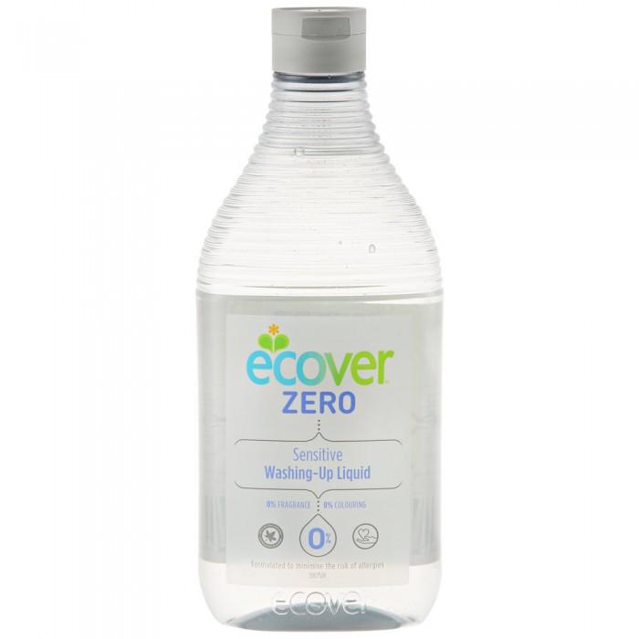 Бытовая химия Ecover Экологическая жидкость для мытья посуды Zero 500 мл жидкость для мытья посуды aos лимон 1 л