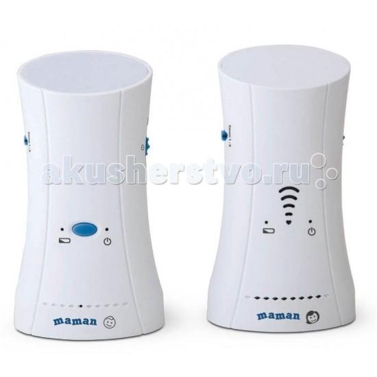 Maman Радионяня ВМ214Радионяня ВМ214Беспроводная система ВМ214 аудио наблюдения за ребенком с дальностью до 500 метров  Радионяня с увеличенной дальностью.  8 каналов передачи данных для обеспечения качественного звука. Режим ожидания для снижения энергопотребления. Голосовая активация. Регулировка уровня чувствительности. Регулировка уровня звука. Световая индикация уровня звука, низкого заряда батареи, выхода из зоны связи. Ночник. Работает от сетевых адаптеров питания или аккумуляторной батареи (входит в комплект). Встроенное зарядное устройство для подзарядки аккумулятора.<br>