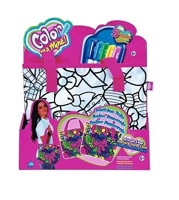 Заготовки под роспись Color me mine Сумка Fashion, 5 перманентных маркеров color me mine рюкзак 5 перманентных маркеров