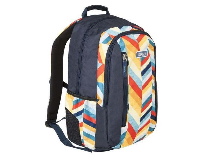 Target Collection Рюкзак Spectrum-2Рюкзак Spectrum-2Target Collection Рюкзак Spectrum-2  Рюкзак имеет мягкую заднюю панель, регулируемые мягкие плечевые ремни и застежку между ними. Прочная верхняя ручка позволяет носить рюкзак в руке. Универсальные внутренние карманы. На дне есть карман на молнии. Вмещает 29 литров.<br>