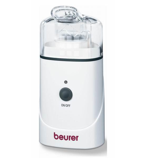 Beurer Ультразвуковой ингалятор IH30Ультразвуковой ингалятор IH30Ультразвуковой ингалятор Beurer IH30 предназначен для ингаляции верхних и нижних дыхательных путей. Cтанет незаменимым помощником при простуде, астме или других подобных заболеваниях.  Среди особенностей модели можно отметить автоматическое отключение, высокую эффективность, наличие сменного резервуара для заполнения, а также простоту обращения и безопасность применения.  Технические данные: Размеры - 65 x 50 x 140 мм Работа от сети и аккумуляторов Мощность - 10 Вт Производительность распыления (условия испытаний массовая концентрация в небулайзере - 25 ) > 0,4 мл/мин Средние размеры частичек в аэрозоли (условия испытаний массовая концентрация в небулайзере 25  Средние размеры частичек во всех приборах составляем менее 6 мкм 5,15 микролитр  Комплектация: Ингалятор Beurer IH30 Маска для взрослых Детская маска Сумка для хранения Инструкция  Основные преимущества: Ультразвуковая технология Маска для взрослых + детская маска Съемный резервуар для медикаментов Возможно использование лекарственных масел Контрольная лампа Автоматическое отключение через 10 минут Дезинфицируемый   Производитель:Beurer GmbH , Германия<br>