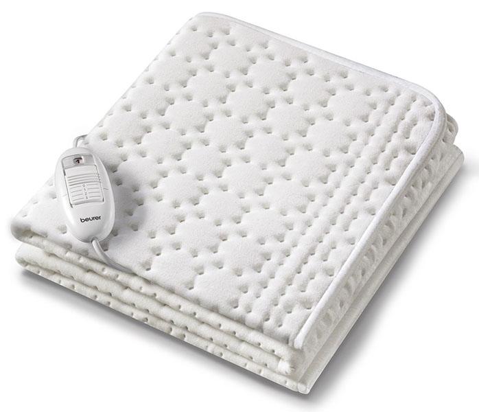 Электропростыни и одеяла Beurer Электропростынь UB30 130х75 см шагомер beurer as50