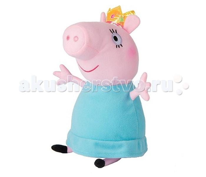 Мягкие игрушки Свинка Пеппа (Peppa Pig) Мама Свинка королева 30 см мягкая игрушка свинка городецкий стиль 23 см в ассортименте