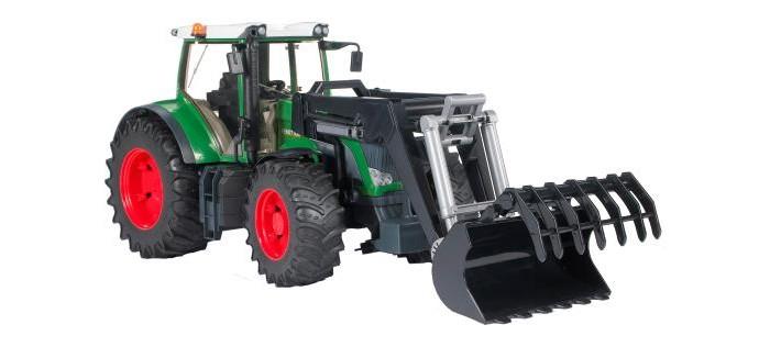 Bruder Трактор Fendt 936 Vario с погрузчиком