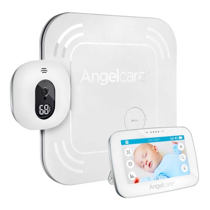 Angelcare Видеоняня сенсорная с монитором дыхания AC417Видеоняня сенсорная с монитором дыхания AC417Angelcare Видеоняня сенсорная с монитором дыхания AC417   Сигнализирует и хранит данные по учёту движений и температуре в комнате вплоть до 2 месяцев! Отслеживает движения, которые не могут отследить аудио и видеомониторы.  Ключевые характеристики: Подматрасный датчик Sensor Pad. Фиксирует каждое движение и дыхание ребенка и передает звуковой сигнал, если в течение 20 секунд движения отсутствуют. Таким образом, вы и ребенок можете спать спокойно. Датчик безопасен для малыша, его действие сравнимо с работой пальчиковых батареек. Установка камеры на стене или на столе. Беспроводной датчик движения. Цветная передача видео в высоком качестве. Следите за вашим малышом с помощью функции видеопередачи изображения высокой четкости на родительском блоке. Приглядывайте за малышом в любое время, не открывая дверь в детскую и не зажигая свет. Дневной и ночной режимы (инфракрасная камера). Инфракрасная камера на детском блоке может передавать видео даже в темноте, так что Вы можете видеть, что происходит в детской комнате, не тревожа сон ребенка. ЖК сенсорный экран. Родители могут менять настройки на детском блоке с помощью сенсорного экрана с интуитивно понятным пользовательским интерфейсом. Имеется возможность изменения яркости дисплея. Контроль температуры в детской комнате. Родители часто беспокоятся о безопасности малыша, когда он остается один в детской. Насколько ребенку комфортно? В комнате слишком жарко или слишком холодно? Видеоняня Angelcare AC417 отображает на родительском блоке температуру в комнате ребенка и предупредит вас, если она слишком высокая или слишком низкая. Защищенная передача цифровых данных. Вы хотите быть уверены, что Ваша видеоняня фиксирует сигналы именно в Вашей детской комнате, а не комнате соседей! Цифровая технология передачи данных видеоняни  минимизирует помехи и обеспечивает приватность общения между детским и родительским блоками. Переносной 