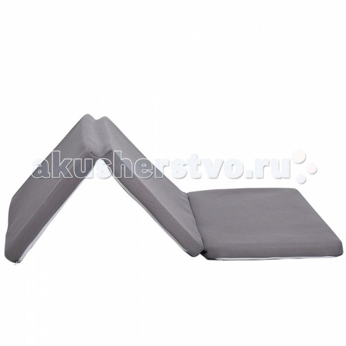Матрас Candide Air+ воздухопроницаемый 3D 60x120Air+ воздухопроницаемый 3D 60x120Candide Матрас Air+ воздухопроницаемый 3D 60x120 является отличным вариантом быстрого и надежного обустройства спального места в гостевой комнате, на даче, в малогабаритной квартире.   CANDIDE Матрас AIR+ - воздухопроницаемый 3D, складной книжка 60x120x4 см.<br>