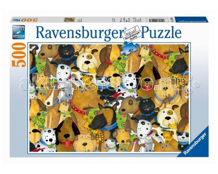 Пазлы Ravensburger Пазл Веселые собаки 500 элементов