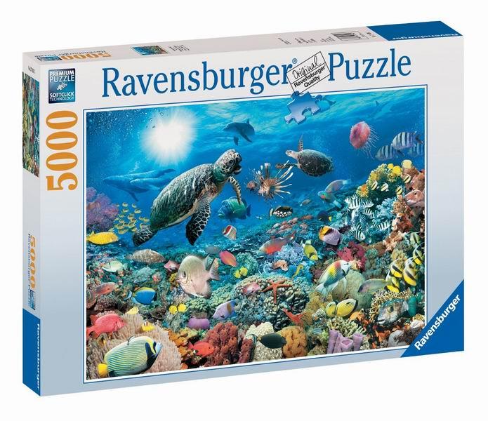 Пазлы Ravensburger Пазл Подводный мир 5000 элементов