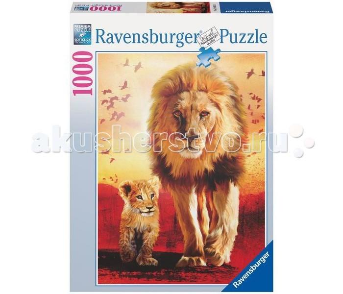Пазлы Ravensburger Пазл Первые шаги 1000 элементов