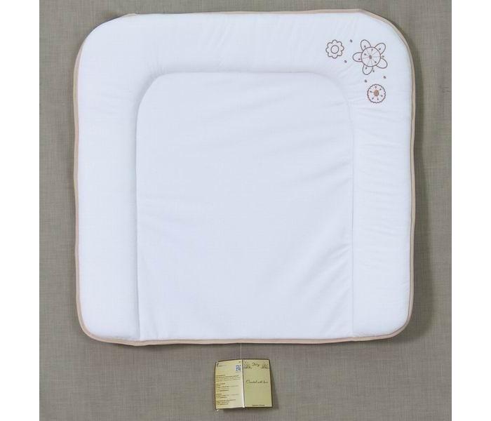 Накладки для пеленания Fairy Накладка для пеленания мягкая Волшебная полянка 70х67 сумка для пеленок и подгузников fairy волшебная полянка цвет бежевый 50 см х 40 см