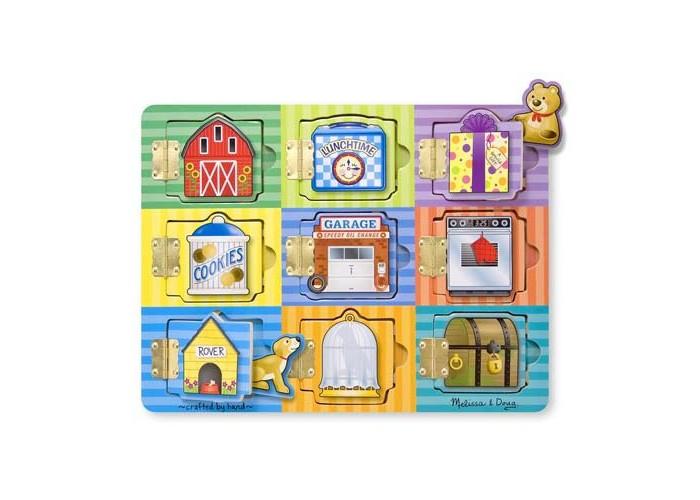 Деревянные игрушки Melissa & Doug Магнитная игра Доска Прятать и искать магнитная доска здоровое питание 31946