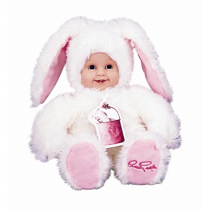Мягкая игрушка Unimax Детки-зайчики 30 смДетки-зайчики 30 смМягкая игрушка Unimax Детки-зайчики превосходно подойдет в качестве подарка не только ребенку, но и юной романтичной особе. Милый белый зайчик с веселым личиком ребенка выполнен из высококачественных материалов в двойной цветовой гамме с сочетанием белого и нежно-розового цветов.   Высота зайчика - 30 см.   Дизайн игрушки разработан всемирно известным фотографом Anne Geddes.<br>