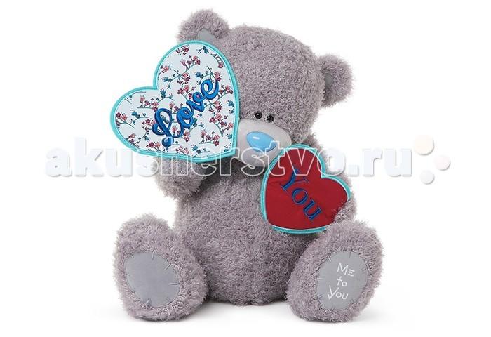 Мягкая игрушка Me to You Мишка Тедди с сердечками 61 смМишка Тедди с сердечками 61 смМягкая игрушка Me to You Мишка Тедди с сердечками – самый лучший подарок как для ребенка, так и для взрослого! Забавная игрушка сделана из приятного и очень мягкого плюша, безвредного для малыша. С такой милой игрушкой можно смело засыпать в кроватке или отправляться на прогулку.   Очаровательный мишка - самый лучший подарок как для ребенка, так и для взрослого! Тедди дарит свою любовь и нежность многим поколениям детей и взрослых, откройте свое сердце для него.<br>