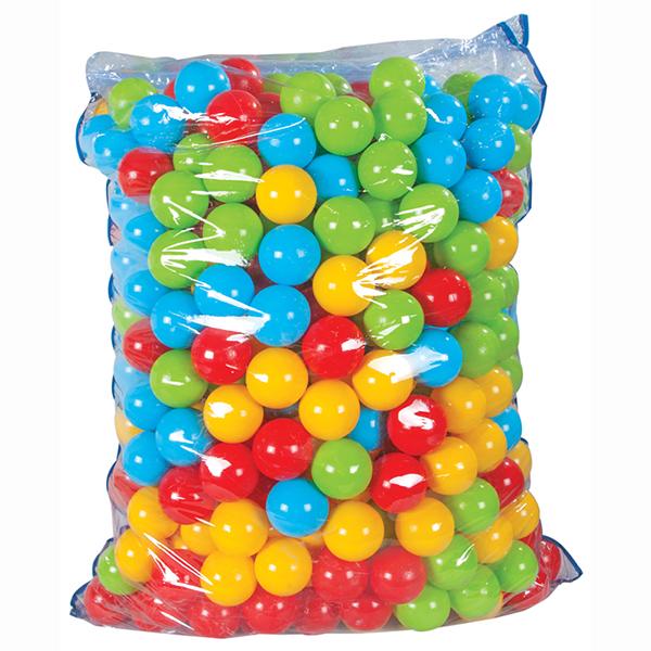 Pilsan Шары в сухой бассейн 90 мм 500 шт.Шары в сухой бассейн 90 мм 500 шт.Шары в сухой бассейн Pilsan 90мм (500 шт) - подойдут для наполнения надувных бассейнов, игровых домиков и детских манежей.   В набор входит 500 разноцветных ярких шариков, выполненных из высококачественного пластика.   С этими шариками можно играть и в бассейне с водой.   Кроме того, они помогут изучить формы, цвета, свойства предметов.<br>