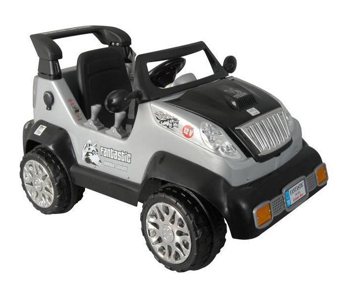 Электромобиль Pilsan Джип на р/уДжип на р/уУправляя этим автомобилем, Ваш ребенок с самого раннего детства приобретет навыки уверенного вождения. Ведь это фактически настоящий автомобиль, только маленький и безопасный.   Музыкальный сигнал (6 звуков) Аккумулятор 12V 12 Ah Колеса с бесшумным покрытием Рычаг переключения Вперед/Назад Удобное сидение со спинкой и ремнем безопасности Двигатель 2X12V  Для детей от 3-7 лет  Пульт радиоуправления для родителей Умная система ключей (с подсветкой) Зеркала заднего вида Наличие плавкого предохранителя Педаль газа/тормоза Передние/задние фары  Открывающийся багажник Система амортизации Максимальная скорость 3.5-7 км/ч Максимальная грузоподъемность 35 кг  Цвета в ассортименте.   Размер машинки - 69х127х71 см.  Компания Pilsan начала свою историю в 1942 году. Сегодня – это компания-гигант индустрии крупногабаритных детских игрушек, которая экспортирует свою продукцию в 57 стран мира. Компанией выпускается 146 наименований продукции – аккумуляторные и педальные автомобили, велосипеды, развивающие игрушки и аксессуары для детей. Вся продукция Pilsan сертифицирована и отвечает международным стандартам качества.<br>