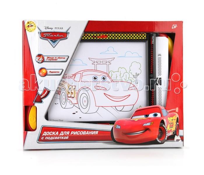 Доски и мольберты Играем вместе Доска для рисования Тачки (Disney) с подсветкой играем вместе игрушка играем вместе disney эль чу