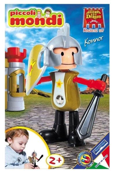 Конструкторы Plastwood Piccoli Mondi Wizard & Dragon Konnor