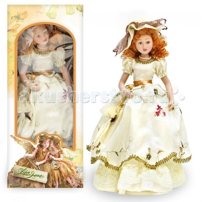 Куклы и одежда для кукол Lisa Jane Кукла фарфоровая Диана 10 25.4 см lisa jane кукла фарфоровая дина