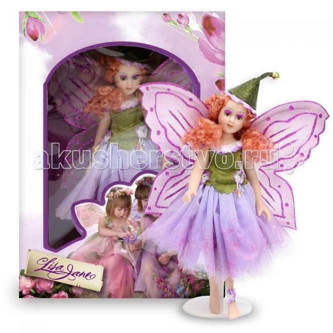 Куклы и одежда для кукол Lisa Jane Кукла фарфоровая Фея 8.5 21.6 см lisa jane кукла фарфоровая дина