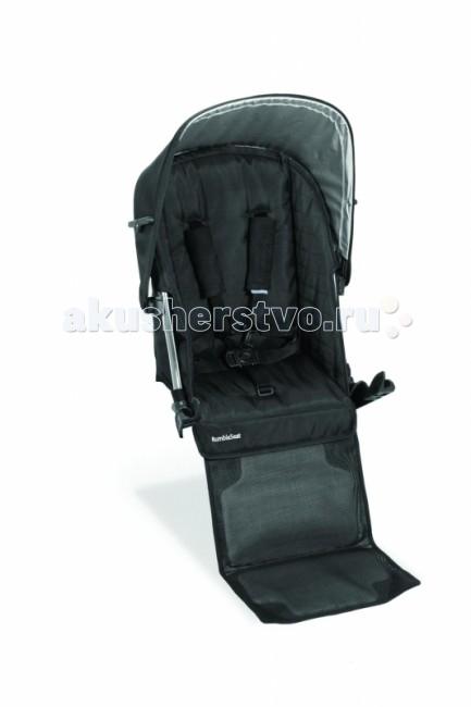 Прогулочный блок UPPAbaby Дополнительное сиденье RumbleSeatДополнительное сиденье RumbleSeatПрогулочный блок UPPAbaby Дополнительное сиденье RumbleSeat. Аксессуар предназначен для модели Vista  модель UPPAbaby Vista можно использовать, как коляску для двоих детей при наличии дополнительного сиденья. Предназначен для детей возрастом от 6 месяцев до 15.8 кг.  Особенности: Установка и снятие за 10 секунд без использования дополнительных инструментов. (Дополнительное сиденье RumbleSeat необходимо снять перед тем, как сложить коляску) Возможно одновременное использование с прогулочным блоком, подножкой-скейтом PiggyBag (не может быть использована в сочетании с люлькой для новорожденного) 5-ти точечные ремни безопасности Съемный капор Корпус из облегченного алюминия Вес: 2 кг.<br>