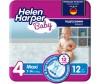 Helen Harper Подгузники Baby Maxi (7-18 кг) 12 шт.