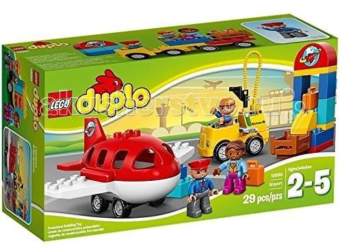 Lego Lego Duplo 10590 Лего Дупло Аэропорт lego 6 lego duplo 10569 лего дупло охота за сокровищами