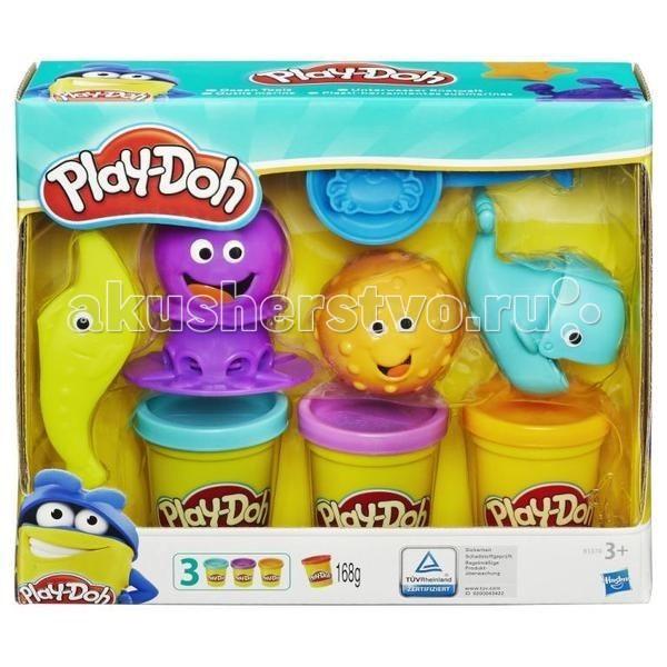 Всё для лепки Play-Doh Hasbro Набор Подводный мир B1378