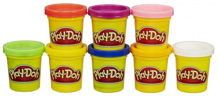 Всё для лепки Play-Doh Hasbro Набор 8 банок A7923 пластилин play doh a7923 8 банок a7923