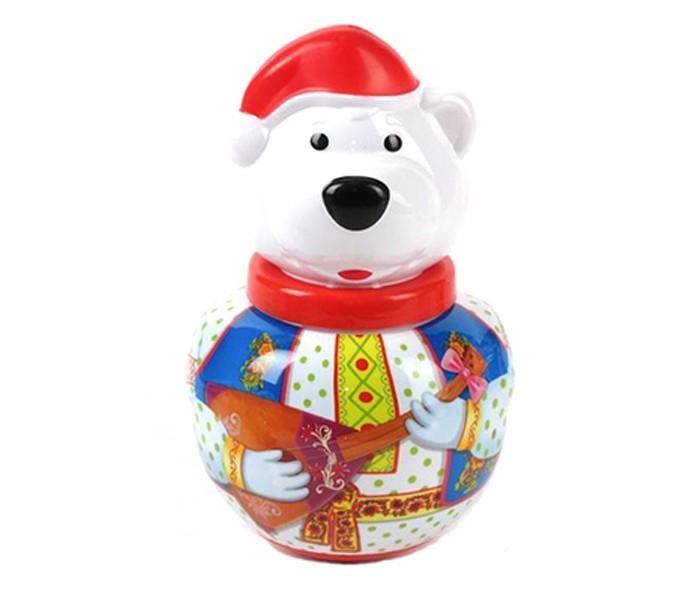Развивающие игрушки Стеллар Неваляшка Белый медведь Борис stellar неваляшка белый медведь борис с балалайкой