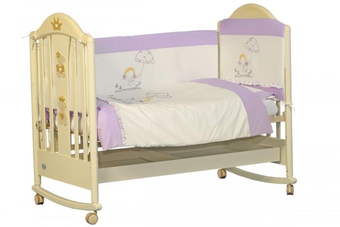 Комплекты в кроватку Папитто Куколка (6 предметов) комплекты в кроватку папитто плюшевый мишка 6 предметов
