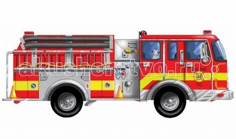 Melissa & Doug Напольный пазл Пожарная машина 24 элемента  - купить со скидкой