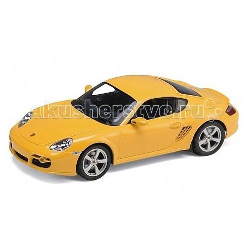 Машины Welly Модель машины 1:24 Porsche Cayman S rastar 1 24 porsche 918 spyder серебро 71400