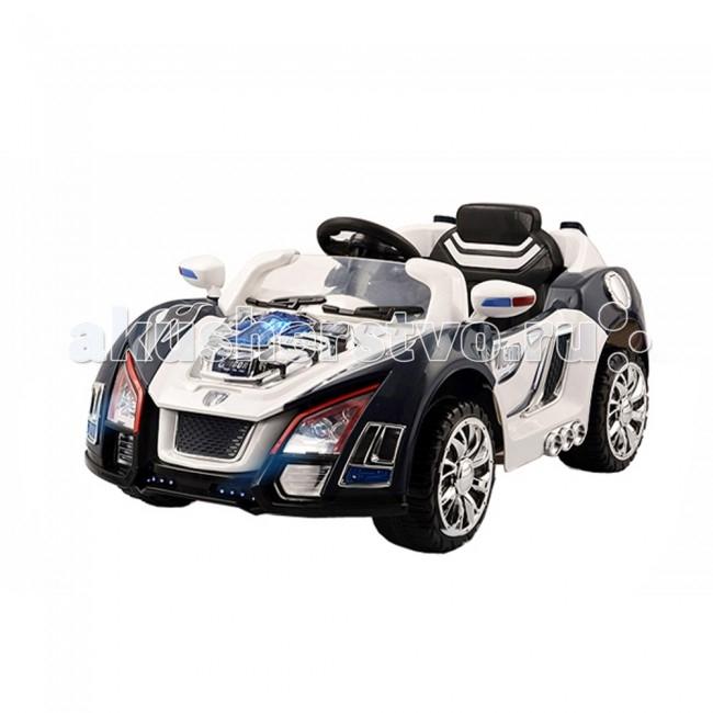 Электромобиль Kid Car Nissan Teana sport CoupeNissan Teana sport CoupeKid Car Ниссан Teana sport Coupe - уменьшенная копия «взрослого» авто приведет в восторг как мальчика, так и девочку. Электромобиль имеет широкий и просторный салон, который обеспечит максимальный комфорт во время катания. Отличительной особенностью модели является возможность открывания и закрывания дверей, при этом высокие борта-двери не дадут ребенку выпасть при езде. Приборная панель электромобиля Kid Car оснащена разъемом для подключения MP3 плеера: так здорово кататься, слушая любимую музыку. Во время движения вперед фары электромобиля загораются, позволяя малышу кататься в сумерках.  Характеристики: предназначен для детей от 3-х до 7 лет скорость: 3.5 км/ч аккумулятор: 6V/7AH х 2 1 посадочное место колеса пластик и резины переключатель управления: ручное/дистанционное  индикатор питания MP3 устройство оснащен пультом дистанционного управления, который работает на расстоянии до 30 метров и позволяет родителям самим управлять электромобилем двери легко открываются и закрываются широкий салон обеспечивает максимально комфортное катание просторное сиденье оснащено удобной спинкой надежный поясной ремень безопасности обеспечивает дополнительную безопасность во время катания высокие борта-двери, которые не дадут ребенку выпасть при движении машинки удобный в охвате руль оснащен кнопкой для включения сигнала газ и тормоз совмещены в одной педали (нажатие-газ, отпускание педали - тормоз) яркий дизайн максимальная нагрузка: 35 кг  В комплекте: аккумулятор зарядное устройство пульт дистанционного управления  Размеры (дхшхв) 123x66.4x52.3 см Вес 13.3 кг  Электромобили Kid Car имеют стильный, яркий дизайн, выполнены из качественных, надежных материалов и очень похожи на настоящие машины. За рулем электромобиля ребенок чувствует себя самостоятельным и взрослым. Ассортимент продукции Kid Car довольно широк, в зависимости от потребностей и предпочтений можно выбрать одно- или двуместные электромобили, со 