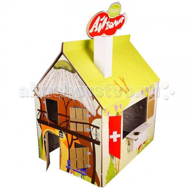 Игровые домики Yoh-ho! Игровой домик-раскраска Сменный декор Доктор Айболит yoh ho kids 3d пазл куб базовый