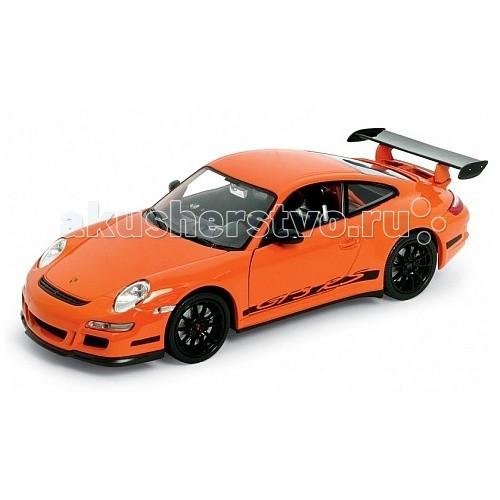 Машины Welly Модель машины 1:24 Porsche 911 (997) GT3 RS rastar 1 24 porsche 918 spyder серебро 71400