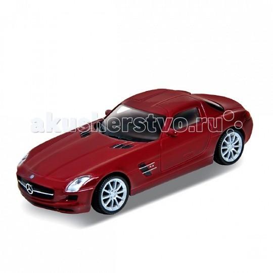 Машины Welly Модель машины 1:34-39 Mercedes-Benz SLS AMG bburago модель автомобиля mercedes benz sls amg roadster
