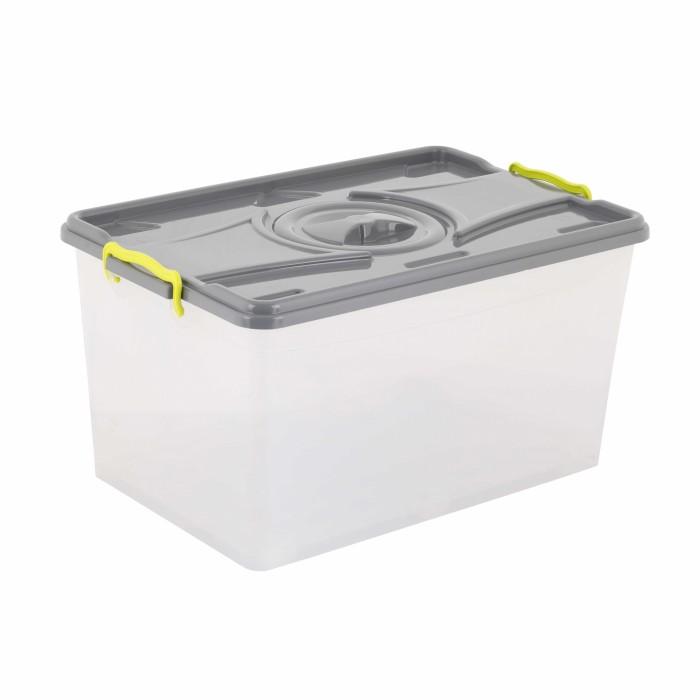 Ящики для игрушек Альтернатива (Башпласт) Контейнер прямоугольный 50 л контейнер пищевой вакуумный bekker koch прямоугольный 1 1 л