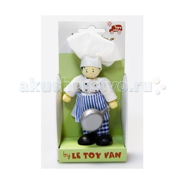 Куклы и одежда для кукол LeToyVan Кукла Шеф повар letoyvan кукла пупс