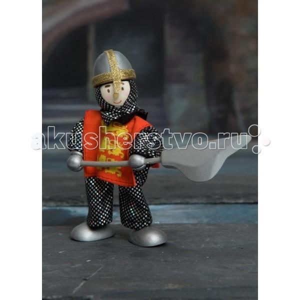 Куклы и одежда для кукол LeToyVan Кукла Рыцарь трех львов letoyvan кукла пупс