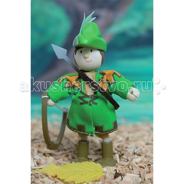 Куклы и одежда для кукол LeToyVan Кукла Робин гуд куклы fritz canzler gmbh миниатюрные куклы