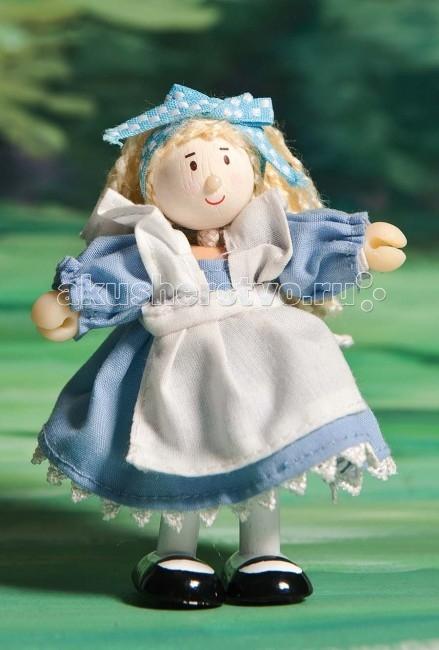 Куклы и одежда для кукол LeToyVan Кукла Алиса в стране чудес letoyvan кукла пупс