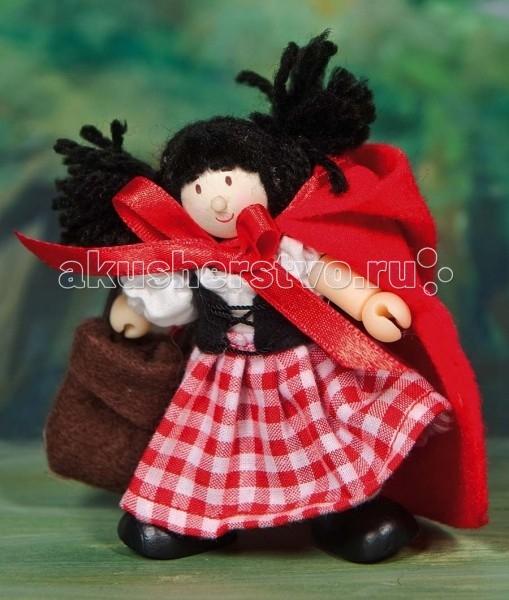Куклы и одежда для кукол LeToyVan Кукла Красная шапочка куклы fritz canzler gmbh миниатюрные куклы