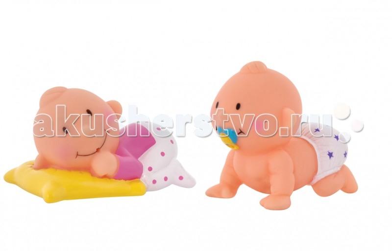 Игрушки для ванны Курносики Набор игрушек-брызгалок для ванны Баю-Бай набор игрушек брызгалок для ванны собачки курносики