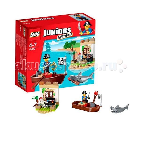 Lego Lego Juniors 10679 Лего Джуниорс Охота за сокровищами lego 6 lego duplo 10569 лего дупло охота за сокровищами
