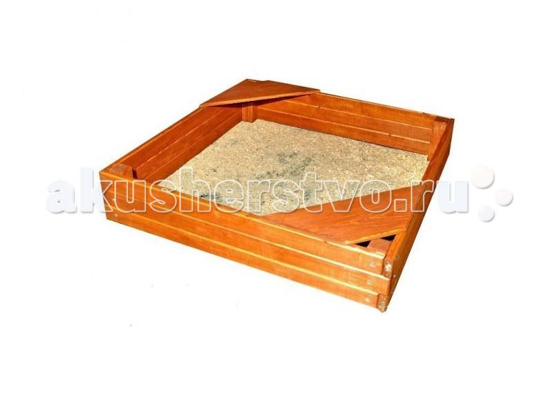 Росинка Песочница КубикПесочница КубикПесочница Росинка-Кубик - песочница одно из любимых занятий для детей. Песок помогает детям развивать мелкую моторику рук, что очень важно для малышей. Песочница отлично будет смотреться на Вашем дачном участке. Подойдет для детей разного возраста.  Характеристики: • Песочница выполнена из дерева. • На двух углах песочницы можно посидеть.  Высота: 0.30 м Занимаемая площадь: 1.40 х 1.40 м<br>