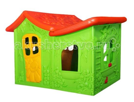 BabyOne Игровой домик Ching-Ching ВиллаИгровой домик Ching-Ching ВиллаИгровой домик BabyOne Вилла - это сказочный дом для вашего малыша. В нем он сможет развиваться, уединяться с игрушками или друзьями, разыгрывать спектакли. Домик, о котором мечтают все дети, он оригинальный и достаточно просторный для того, чтобы пригласить в гости друзей.  Малыш безусловно оценит возможность иметь свое собственное очаровательное жилище. Произведен с соблюдением европейского стандарта качества. Стимулирует малыша к активным действиям и движению, развивает воображение. Украсит любую дачу или детскую комнату и станет любимым местом для игр Вашего ребенка.  Особенности: предназначен для детей от 3 до 10 лет соответствует европейским стандартам безопасности оригинальный яркий дизайн очень уютный идеально подходит для игры на даче, на улице, дома конструкция очень устойчивая, прочная, не имеет острых углов легко собирается и разбирается легко содержать в чистоте, так как может подвергаться влажной обработке  Материал - высокопрочный морозостойкий пластик, экологически безопасный и устойчивый к ультрафиолетовому излучению.  Общие размеры: (дхшхв) 190х120х130 см.<br>