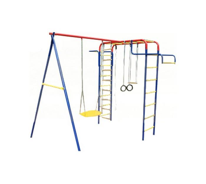 детский спортивный комплекс пионер дачный мини с качелями цк
