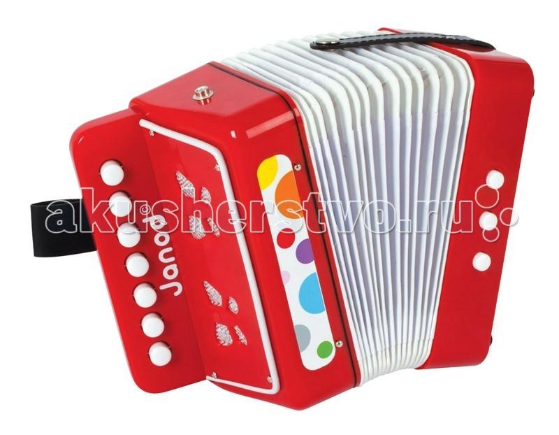 Музыкальная игрушка Janod Аккордеон