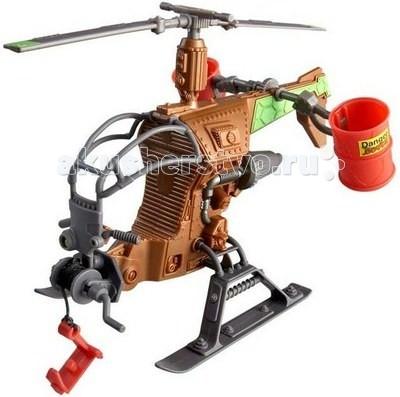 Вертолеты и самолеты Playmates TMNT Вертолет Черепашки Ниндзя игровой набор tmnt черепашки ниндзя микиланджело от 4 лет 3 предмета 90835